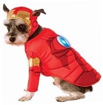 Rubies Costume Avengers Assemble Deluxe Iron Man Pet Costume, Medium - $11.85