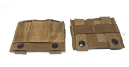 Lot Of 2 Army Military Surplus Molle Ii Coyote K-BAR Adapter Straps New - $8.28