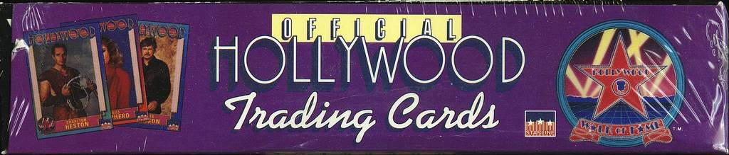 HOLLYWOOD WALK OF FAME 36 PACK BOX MINT SEALED STARLINE RARE