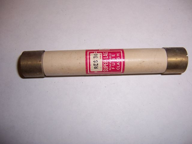 Primary image for RES 30 Renewable cartridge fuse 30 amp 600 volt