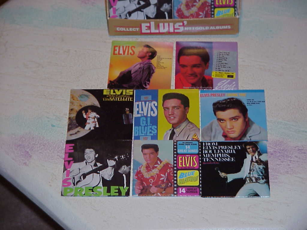 Elvis  , Minature Album Covers  , Chu-Bops 1981