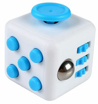 Magic Fidget Cube Anxiety Stress Relief - One Item w/Random Color and Design image 8