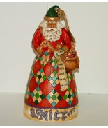 Santa Jim Shore He Knows Naughty Nice Figurine Enesco  - $20.00
