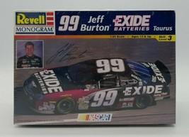 Revell Monogram #99 Jeff Burton Exide Batteries Ford Taurus NASCAR Skill 3 New! - $19.68