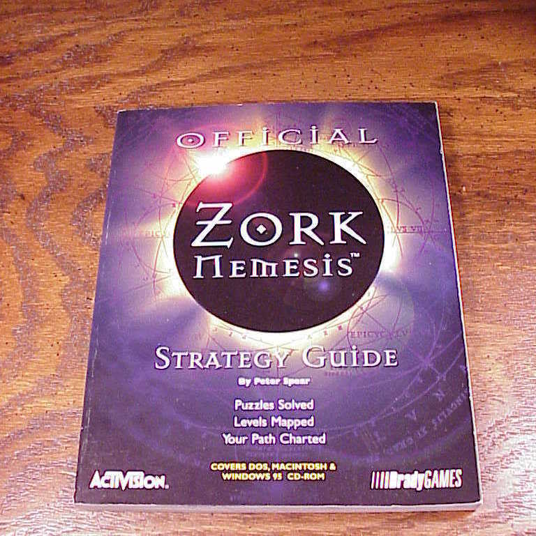 Official Zork Nemesis PC Game Strategy Guide and 50 similar