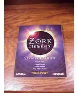 Official Zork Nemesis PC Game Strategy Guide Book - $4.95