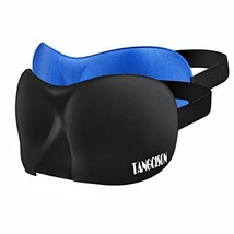TANGCISON Eye Mask Sleep Mask, 2 Pack 3D Eye Mask for Sleeping, Bamboo a... - $16.16