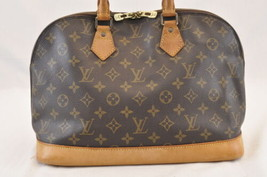 Louis Vuitton Monogram Alma Hand Bag M51130 Lv Auth 4705 - $360.00