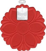 Talisman Designs No-Slip Grip Hot Pad, Red, Pot Holder, Spoon Rest, Jar ... - $11.97