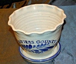 Daviess County Westerwald Stoneware Decorative Planter AA-191831 image 2