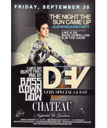 DEV @ CHATEAU Nightclub Las Vegas Promo Card - $1.95