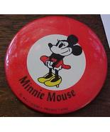 Disney Minnie Mouse Red Border Pin - $3.99