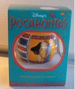 Disney Pocahontas John Smith Christmas Ornament  - $9.99