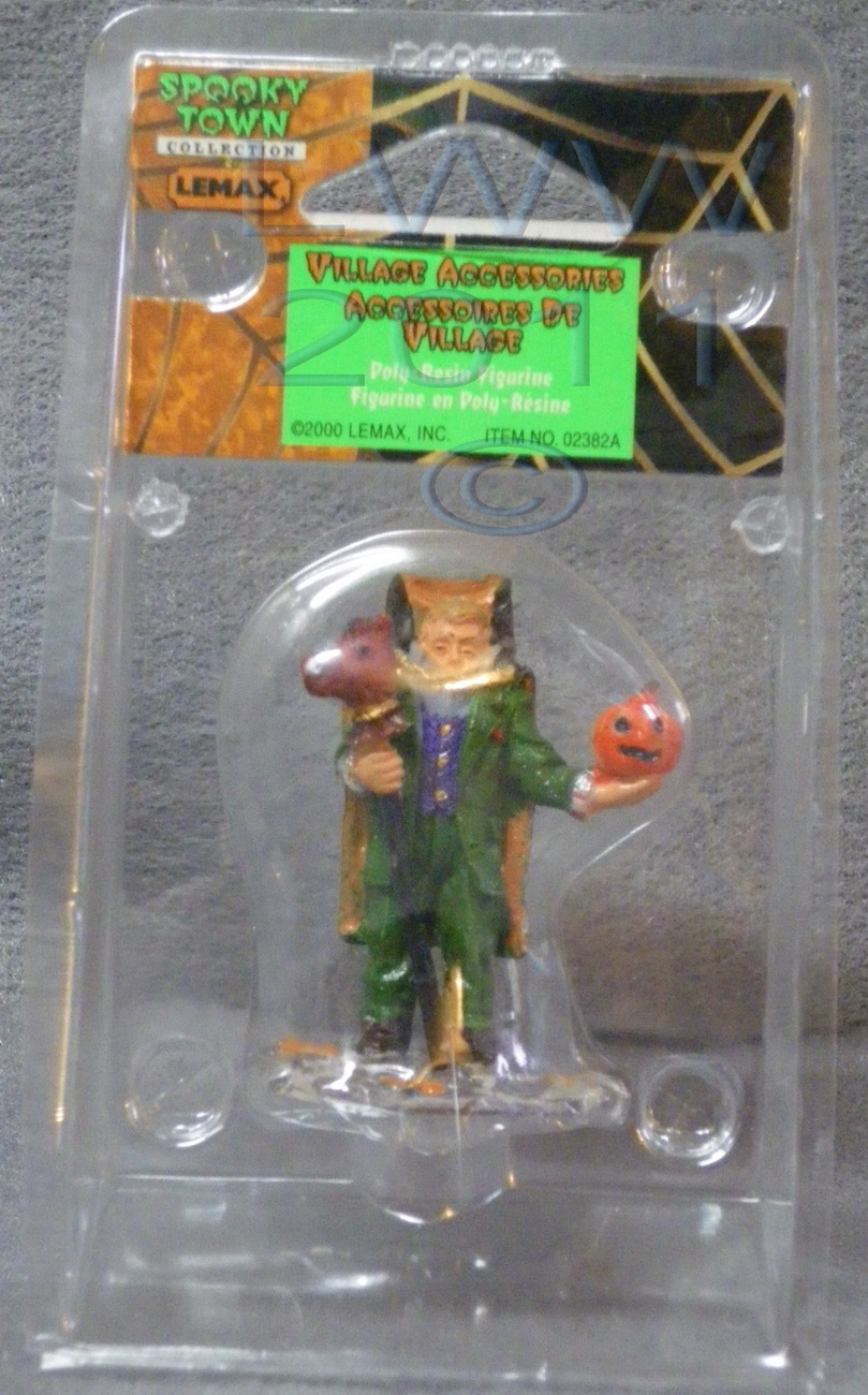 Lemax Spooky Town Village Accessories Headless Horseman In Package