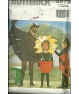 BUTTERICK COSTUMES # 4972 SIZES S-M-L-XL - $5.95