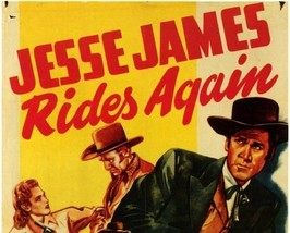 JESSE JAMES RIDES AGAIN, 13 CHAPTER SERIAL, 1947 - $19.99