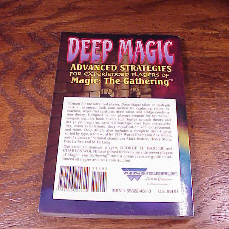 Deep Magic, Magic the Gathering Strategy Guide Book