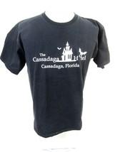 CASSADAGA HOTEL Florida T Shirt Unisex sz L spooky bats psychic medium town - $17.63