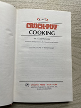 Vintage 1975 Rival Crock-Pot Cooking Cook Book - hardcover image 2