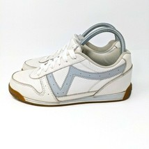 Vans VTG leather sneakers 52482-73 size 8.5 white - $56.10