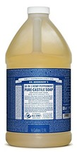 Dr. Bronner's - Pure-Castile Liquid Soap Peppermint, 64 ounce - Made wit... - $36.39