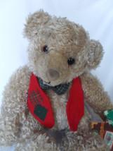 "Vintage Hallmark Tyler Teddy Chenile Bear Plush  10"" with Storybook New!... - $11.90"