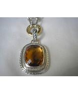 David Yurman CITRINE WHEATON Diamond Enhancer 20 X 15M  NEW approx ret $... - $950.00