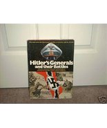 HITLER'S GENERALS AND THEIR BATTLES BOOK HC DJ 1977 - $9.99
