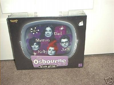 THE OSBOURNE FAMILY TRIVIA BOARD GAME NEW! HYSTERICAL!