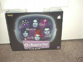 THE OSBOURNE FAMILY TRIVIA BOARD GAME NEW! HYST... - $11.99