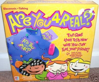 ARE YOU 4 REAL? Electronic Talking PARTY Game NEW! 2002