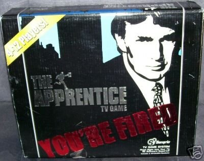 THE APPRENTICE * WIRELESS Plug & Play TV GAME NEW!