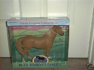 BLUE RIBBON STABLES SPANISH BARB COLLECTIBLE HORSE NEW!