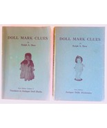 Doll Mark Clues Vol I & II Shea books collecting antique 1st edition vin... - $14.00