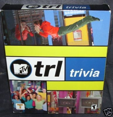 MTV TRL TRIVIA * PC CD ROM * GAME NEW IN BOX!