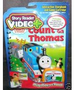 Story Reader VIDEO PLUS COUNT ON THOMAS Book Cartridge NEW - $17.96
