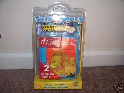TELE STORY Disney THE LION KING STORYBOOK CARTRIDGE NEW