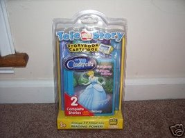 TELE STORY Disney CINDERELLA Storybook Cartridge NEW! - $9.96