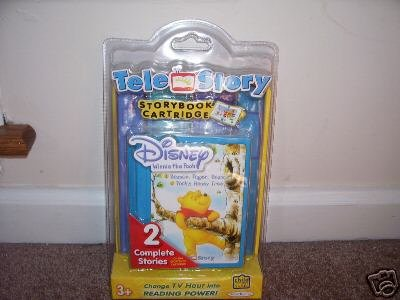 TELE STORY Disney WINNIE THE POOH Storybook Cartridge NEW!
