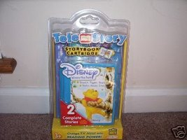 TELE STORY Disney WINNIE THE POOH Storybook Cartridge NEW! - $9.96