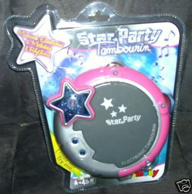 Primary image for Smoby STAR PARTY TAMBOURINE Musical Electronic Toy