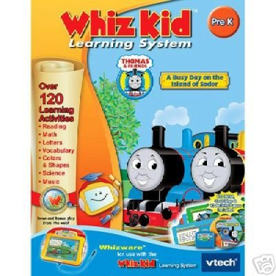 Vtech Whiz Kid THOMAS AND FRIENDS A BUSY DAY ON SODOR Set