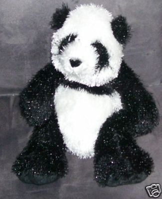 "Primary image for Ganz WEBKINZ * PANDA * Bear Plush EXC! 8"" Sitting"