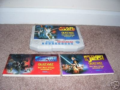 Quiz Wiz STAR WARS TRILOGY ELECTRONIC GAME MINT! RARE