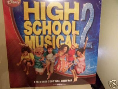 Primary image for HIGH SCHOOL MUSICAL 2 * 16 month * 2008 WALL CALENDAR
