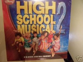 HIGH SCHOOL MUSICAL 2 * 16 month * 2008 WALL CALENDAR - $6.99