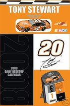 TONY STEWART 2008 BOX CALENDAR w/DIECAST CAR NEW! - $14.99