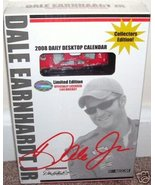 DALE EARNHARDT JR 2008 DAILY DESKTOP CALENDAR w/DIECAST - $7.99