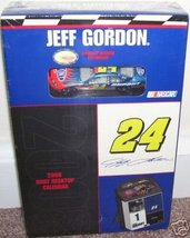 JEFF GORDON 2008 Box Calendar with Diecast Car NEW!  - $14.96