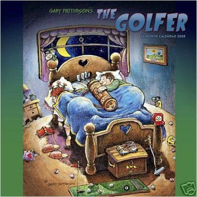 Primary image for Gary Patterson THE GOLFER 2008 16 Mo. Calendar w/MAGNET